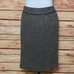 Ann Klein Textured Pencil Skirt